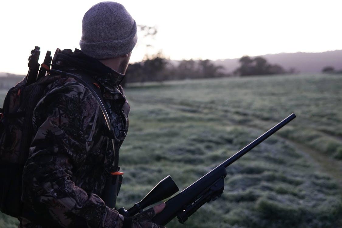 Mand på jagt