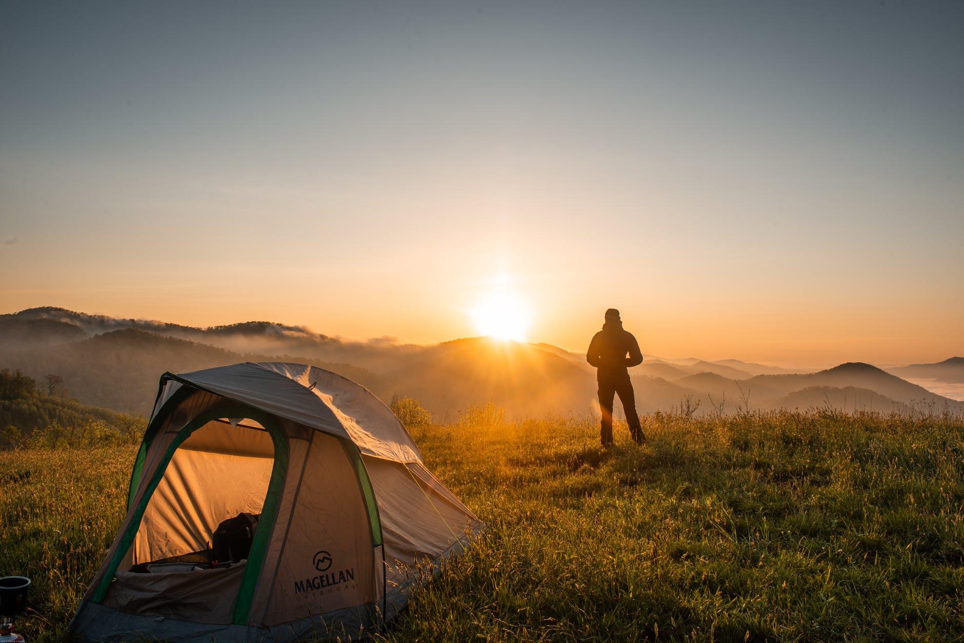 telttur i solen